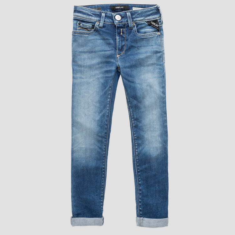 Super skinny fit Hyperflex jeans- REPLAY&SONS