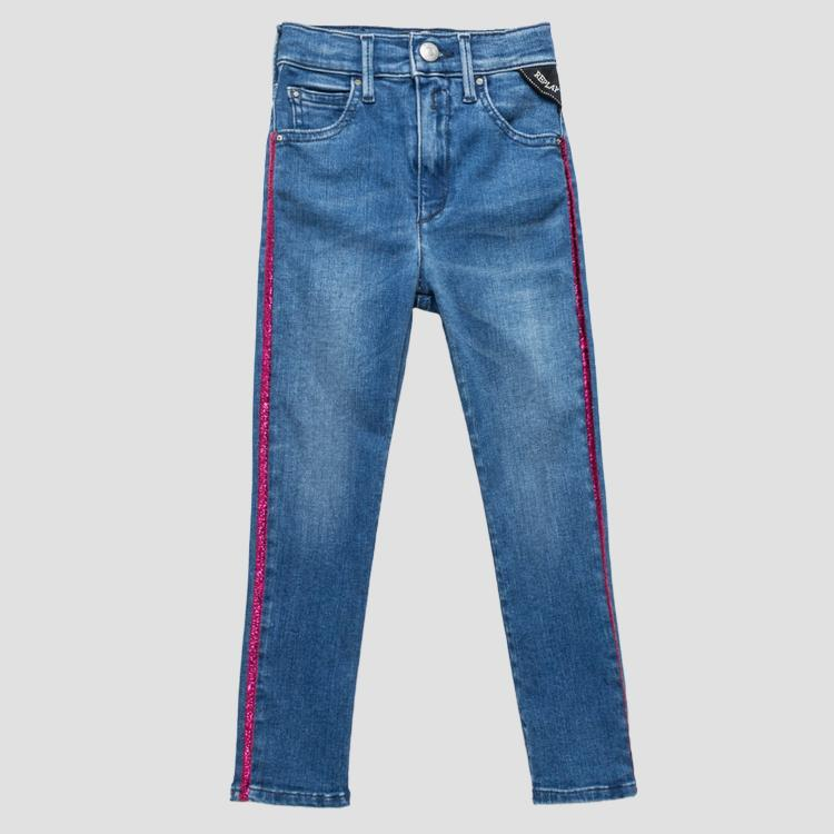 Jeans with metallic detail sg9306.052.93a 487