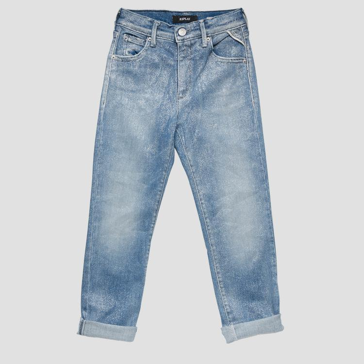 Skinny high waist fit jeans- REPLAY&SONS