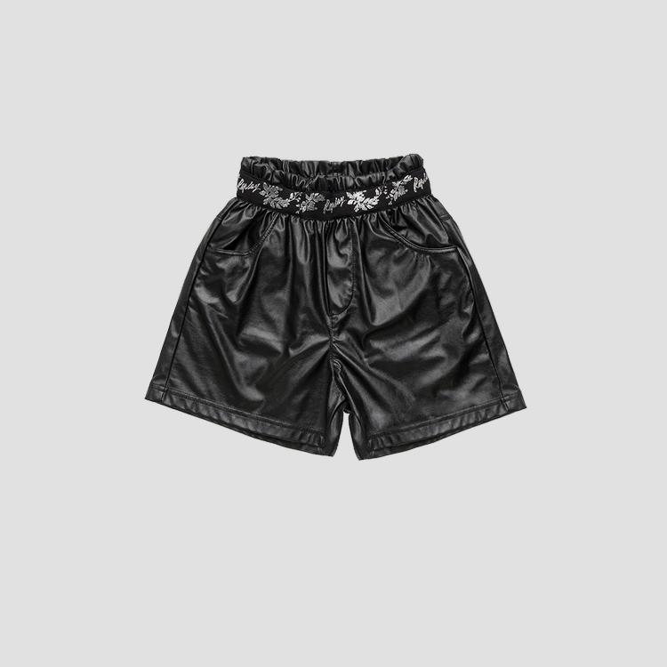 High waist shorts with lurex embroidery sg9609.050.84268