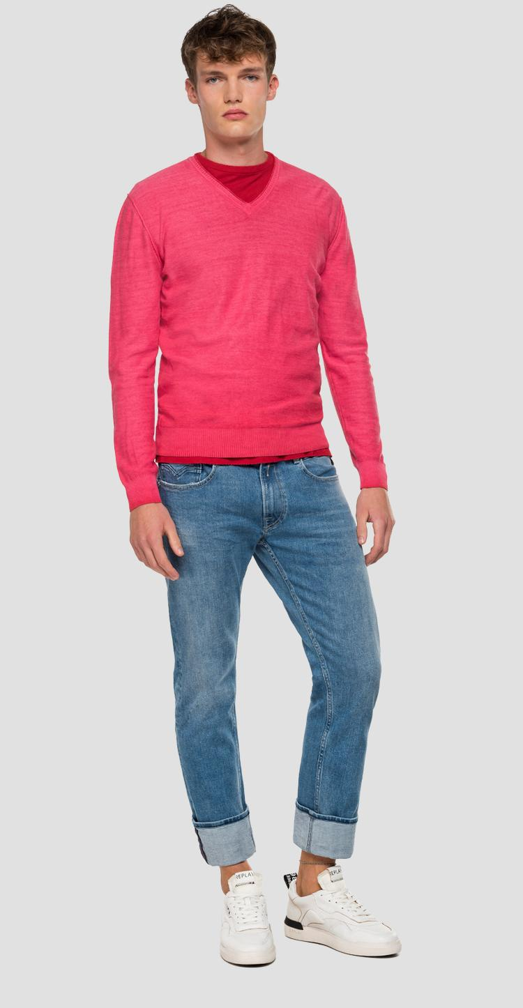 V-neck sweater - Replay