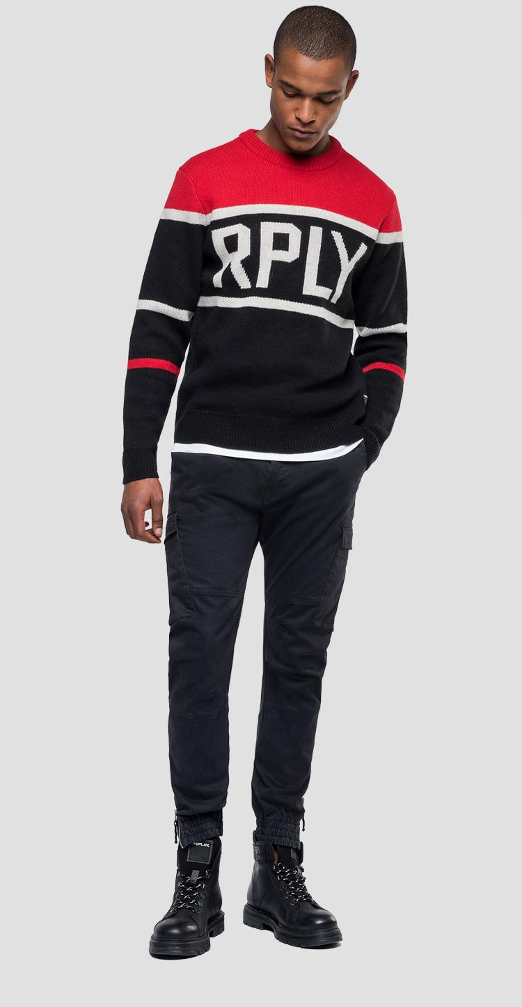 Tricolour RPLY sweater uk3070.000.g2897j