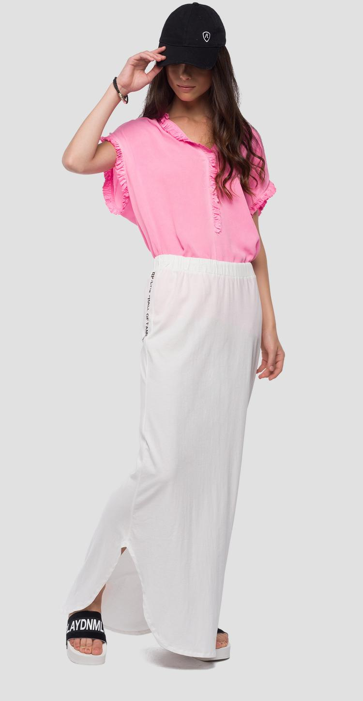 Blouse with ruffles w2205 .000.83350f