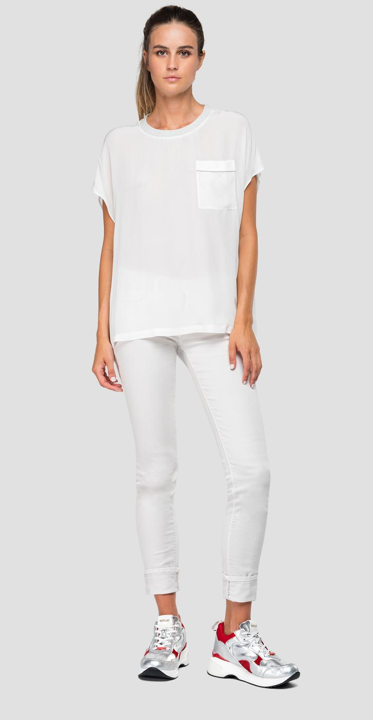 Short sleeves blouse - Replay