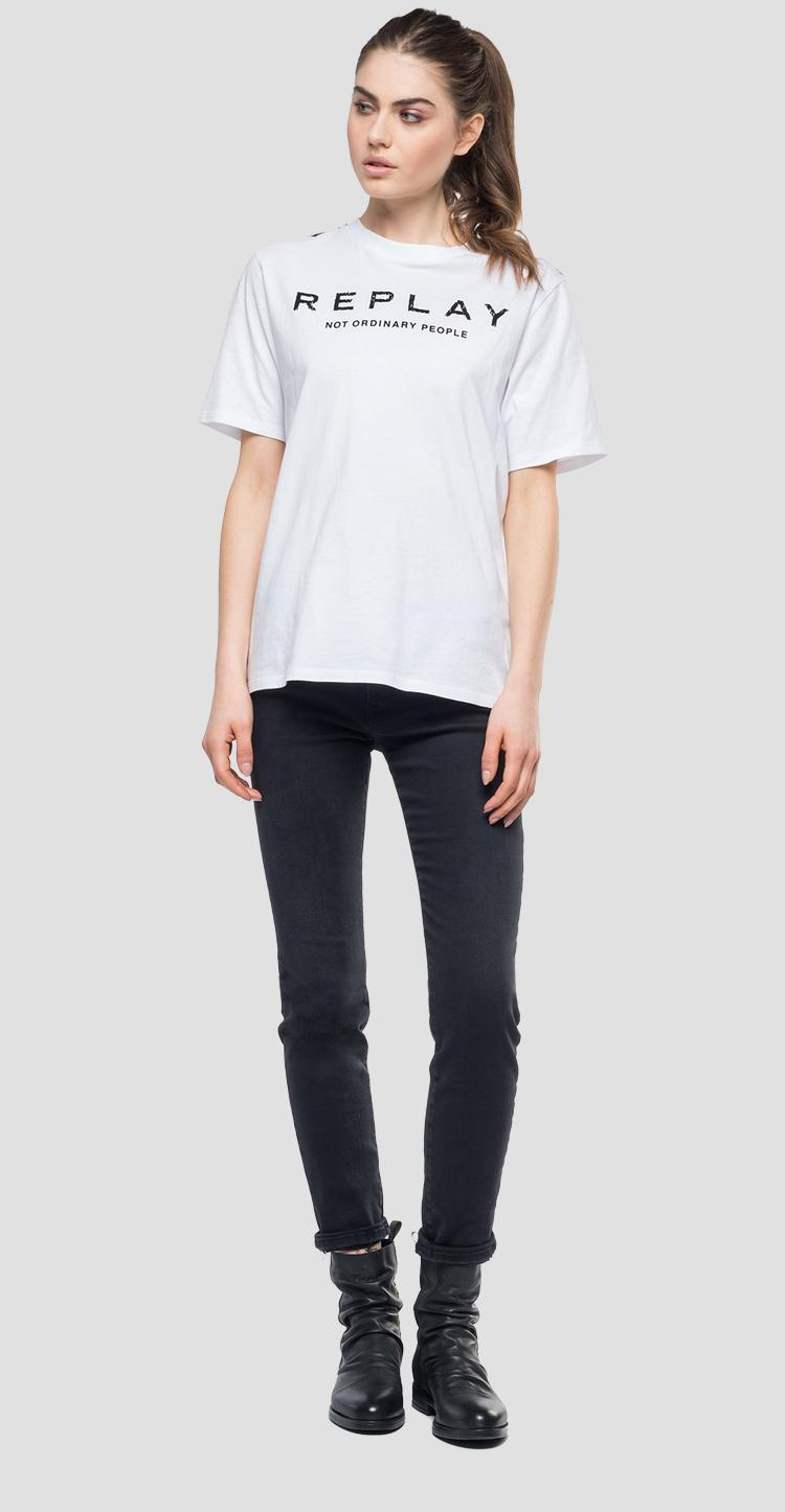 REPLAY NOT ORDINARY PEOPLE t-shirt w3180e.000.20994
