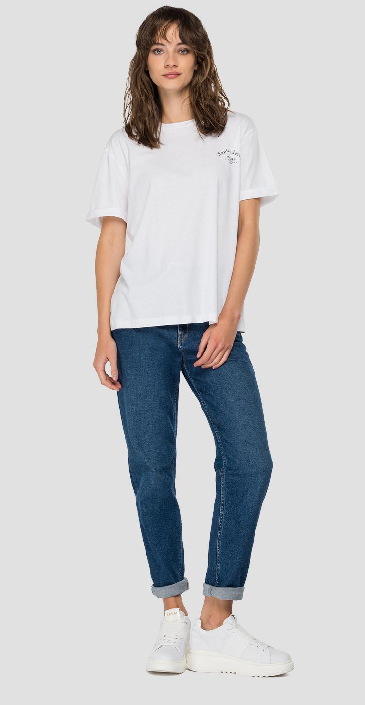 REPLAY JEANS ATELIER crewneck t-shirt w3232f.000.22536p