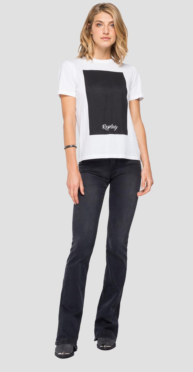 REPLAY cotton jersey t-shirt w3510 .000.20994