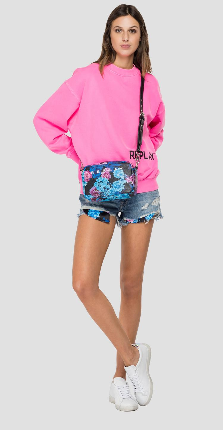 REPLAY THE FORTY YEARS cotton sweatshirt w3586 .000.22738d