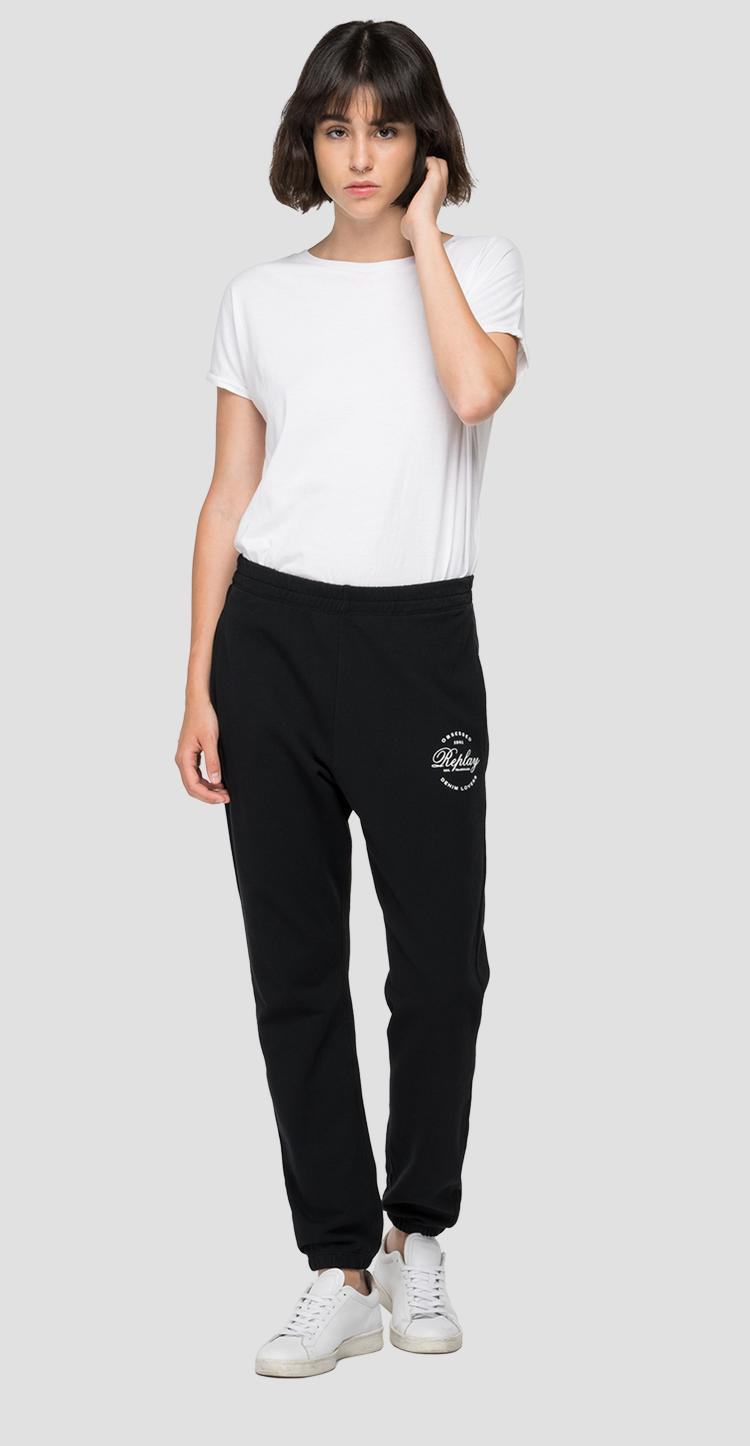 Loose fit jogger pants with Archive graphic w8561 .000.23158p