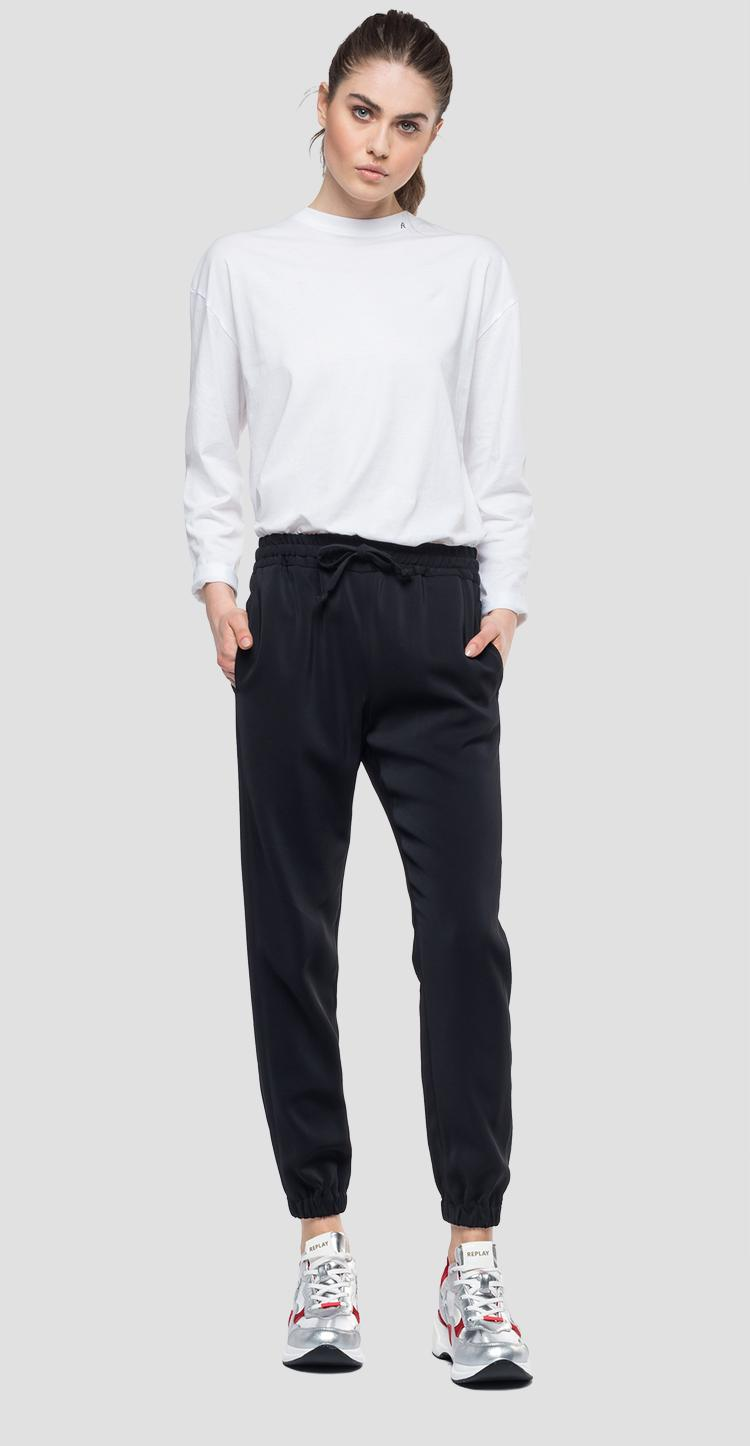 Comfy trousers with drawstring w8867 .000.83514
