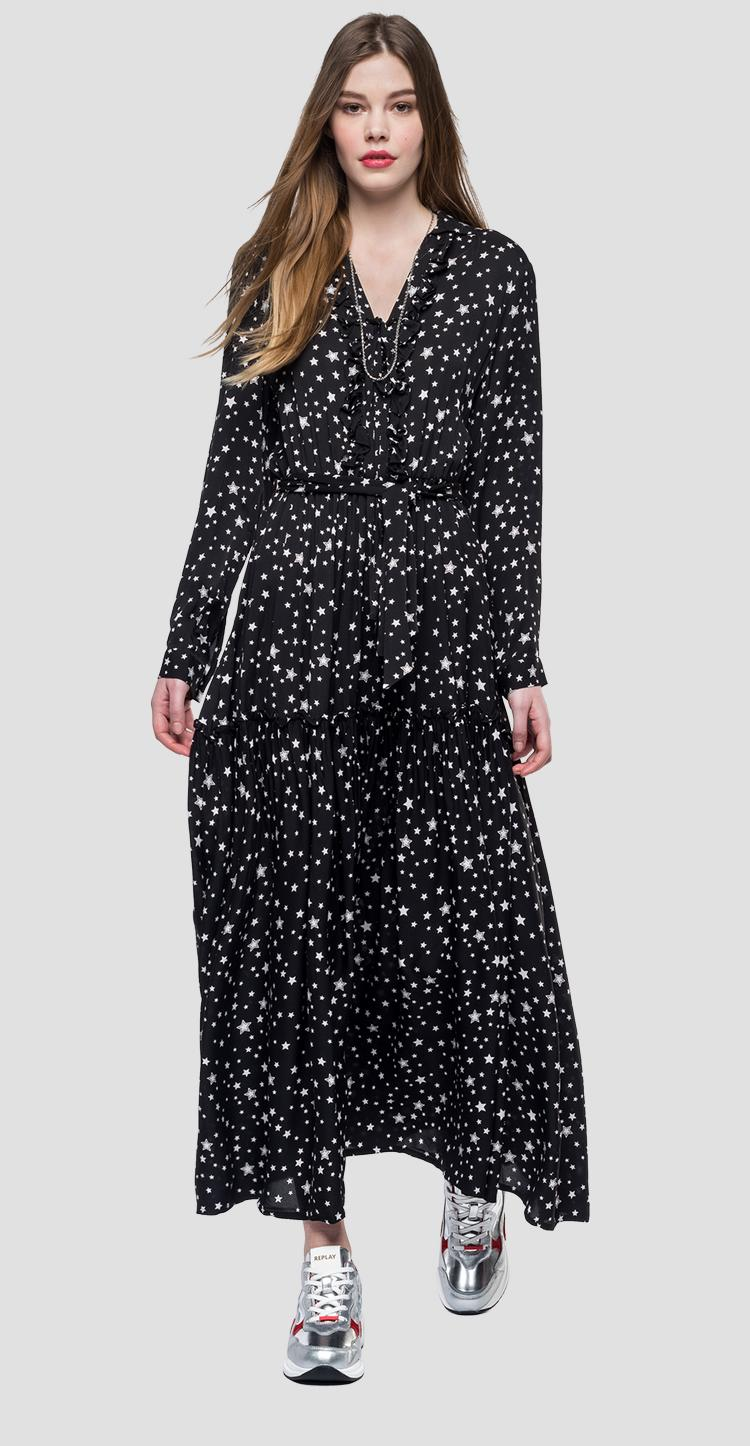 Long dress with stars - Replay