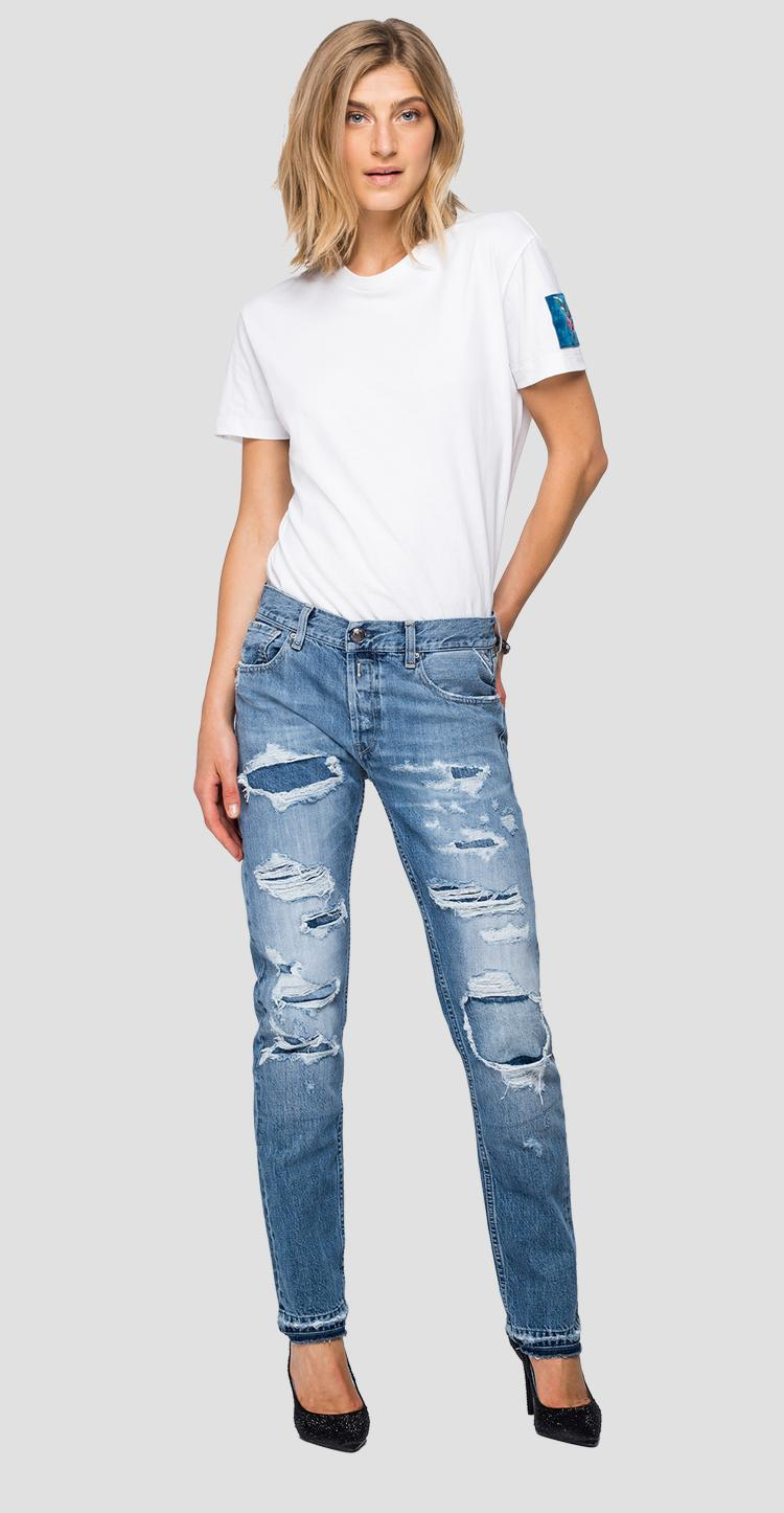 Straight fit Joplyn Rose Label jeans wa405h.000.50c 790