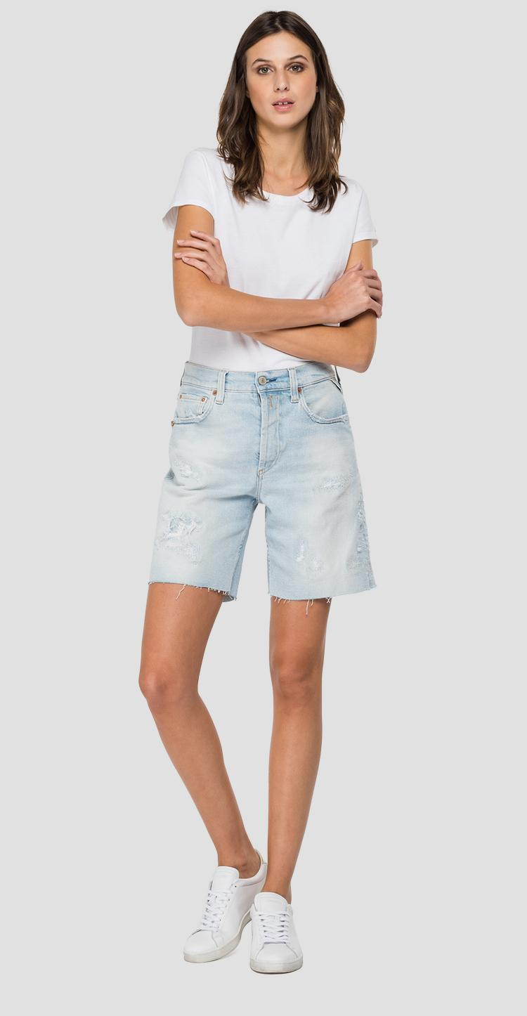 ROSE LABEL denim shorts wa456 .000.207 85r