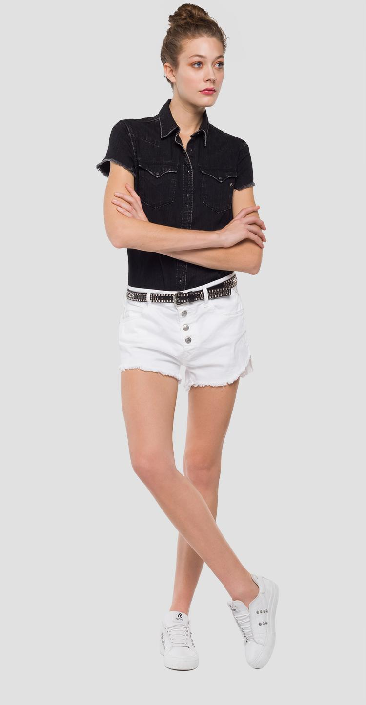 Shorts with button panel wa630 .000.8005201