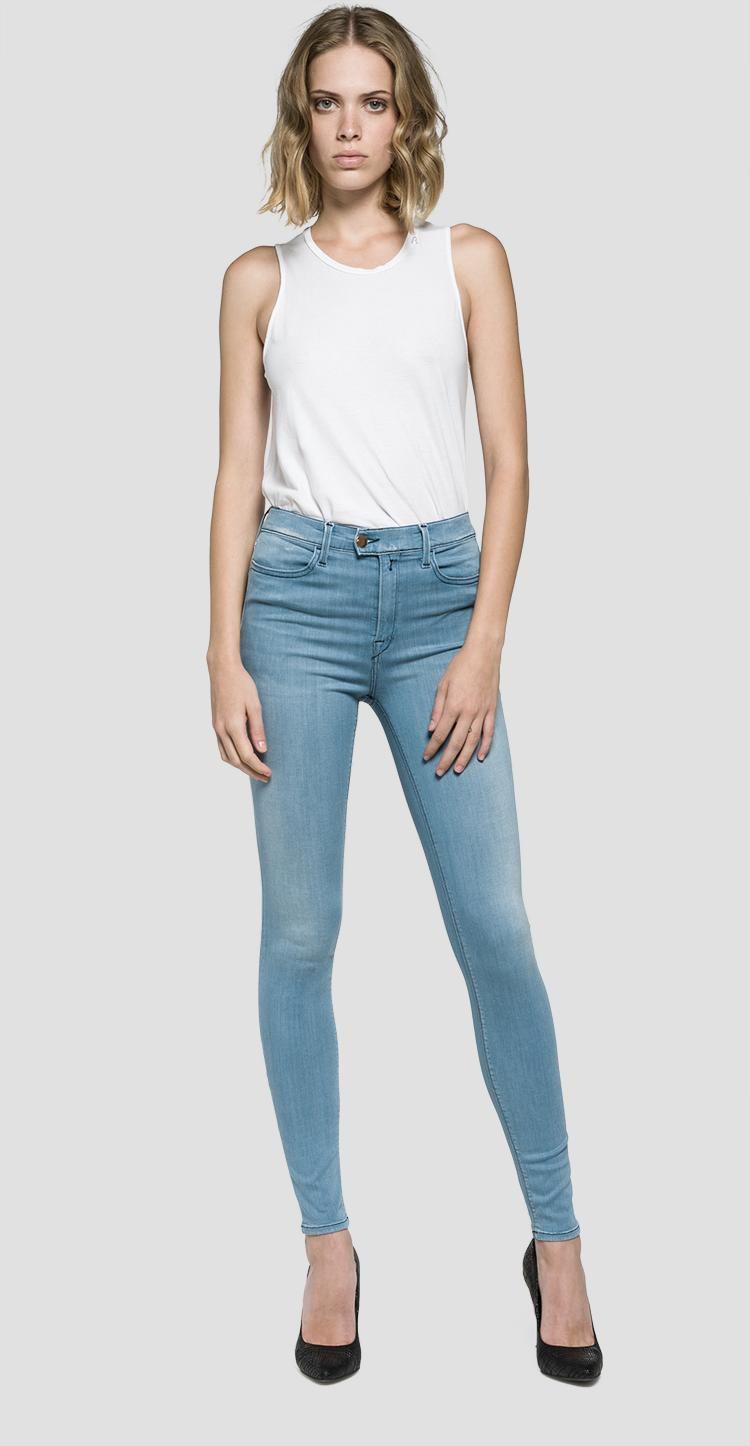 c06758c826 Super high waist skinny fit Touch jeans - Replay