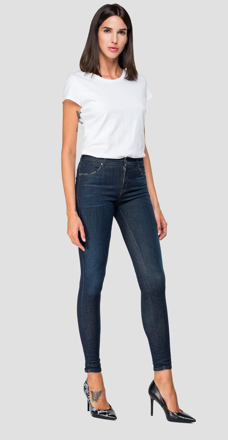 Super skinny fit Hyperflex Stella jeans Clouds - Replay