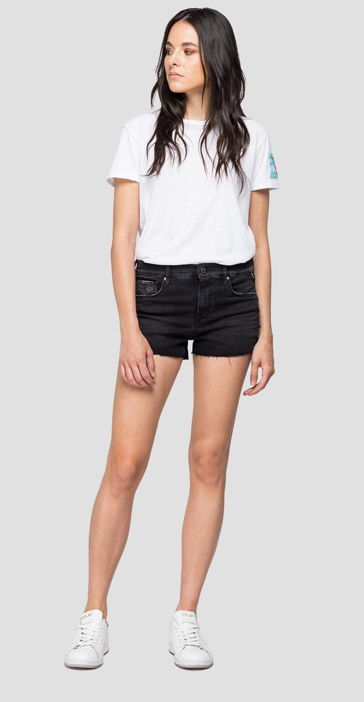 Short pants in Hyperflex Clouds denim wa695 .000.661 e01