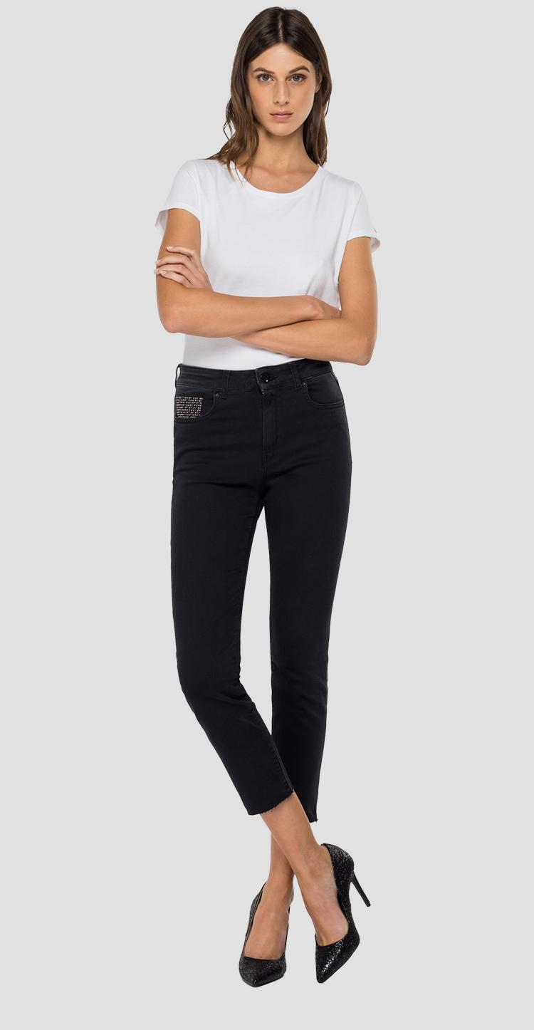 Slim fit cigarette crop Faaby jeans wb429b.026.103 809