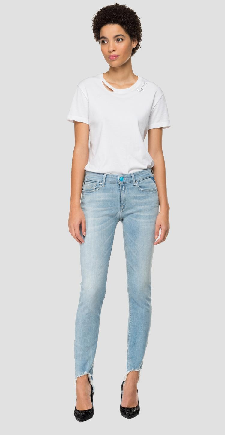Skinny high waist fit New Luz jeans - Replay