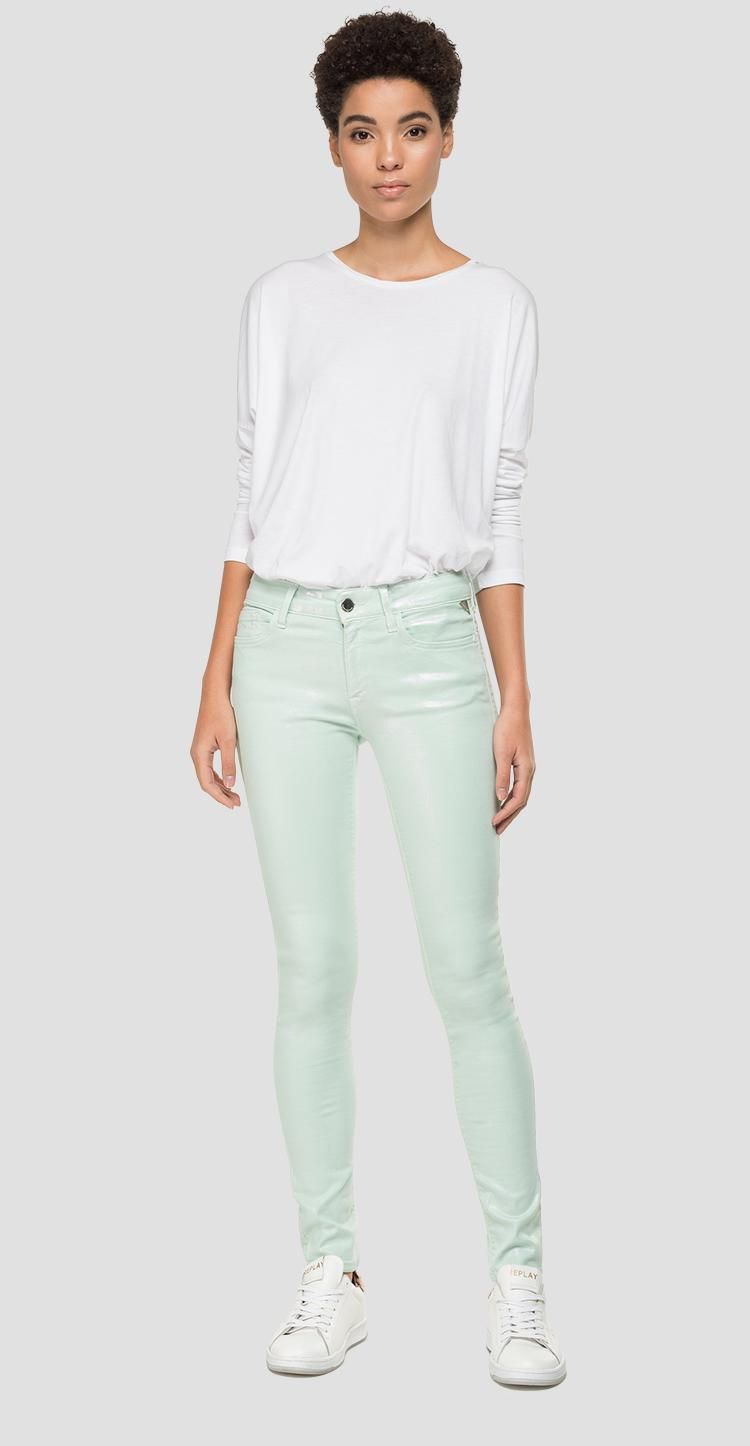 Skinny hig waist fit New Luz jeans - Replay