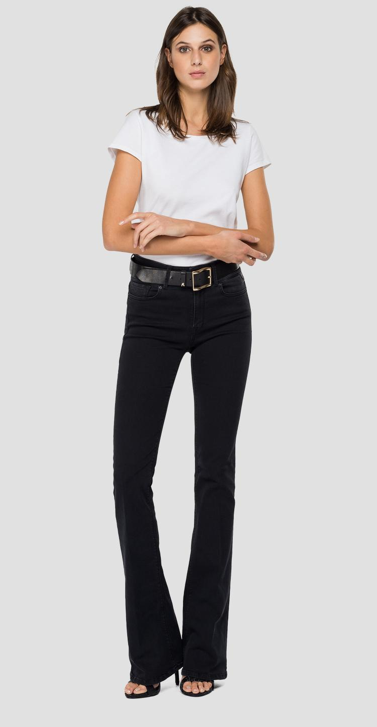 Flare high waist bootcut fit New Luz jeans wlw689.000.103e809