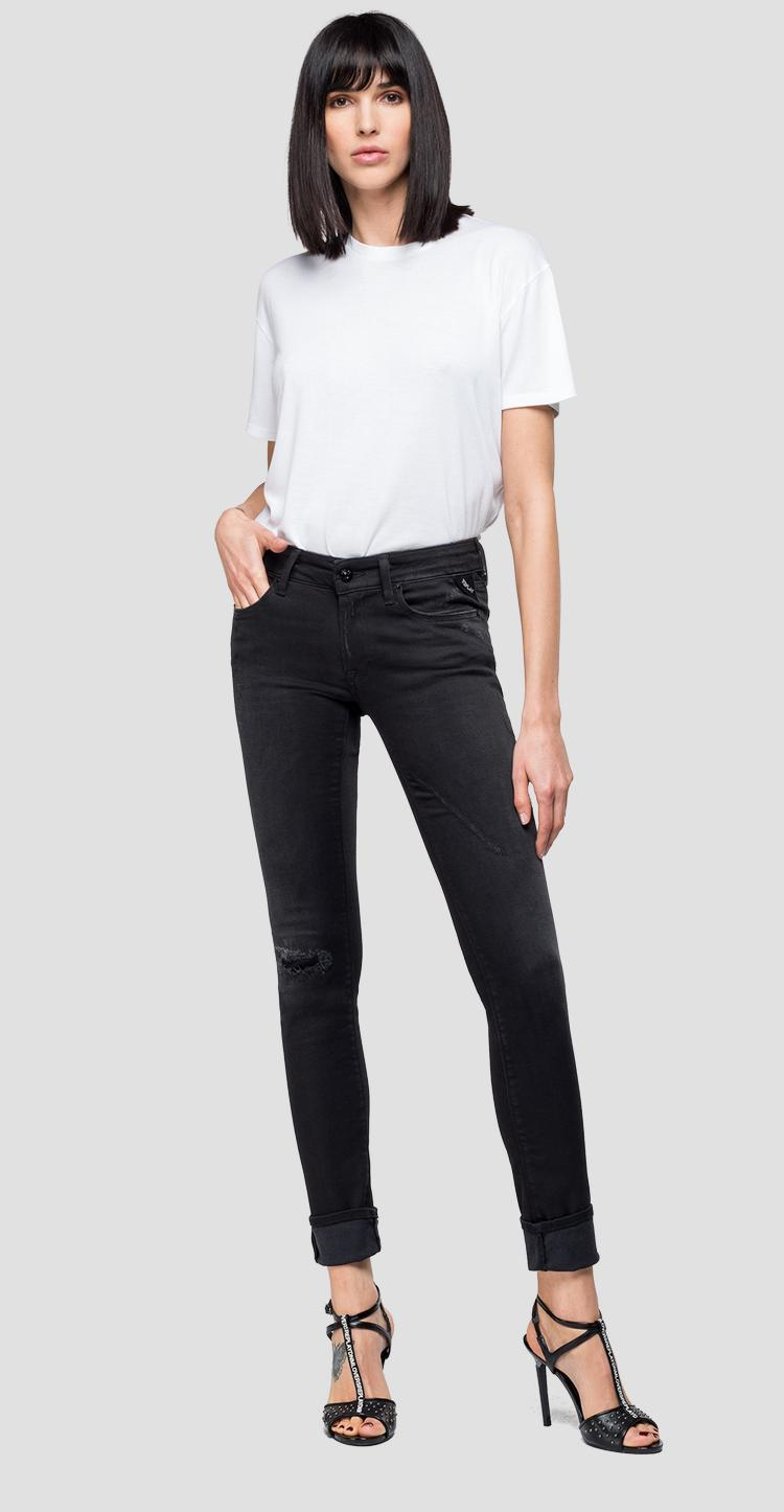 Hyperflex Luz skinny-fit jeans Broken & Repair - Replay