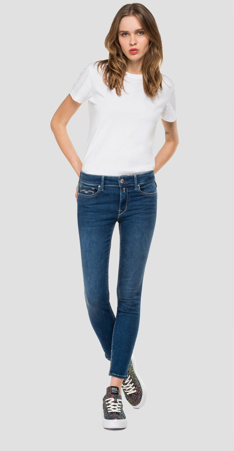 Skinny high waist fit New Luz Ankle Zip jeans Replay